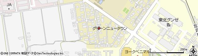山形県寒河江市緑町91周辺の地図