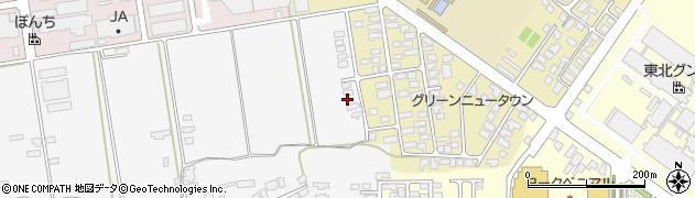 山形県寒河江市緑町30周辺の地図