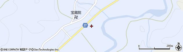 山形県西村山郡大江町月布234周辺の地図