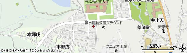 山形県西村山郡大江町左沢3009周辺の地図