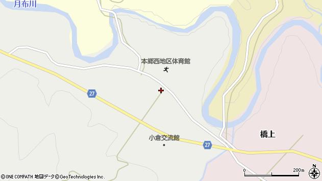 山形県西村山郡大江町十八才甲1周辺の地図