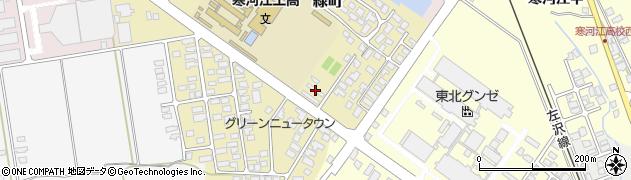 山形県寒河江市緑町149周辺の地図
