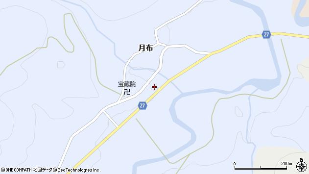 山形県西村山郡大江町月布219周辺の地図