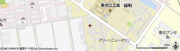 山形県寒河江市緑町41周辺の地図