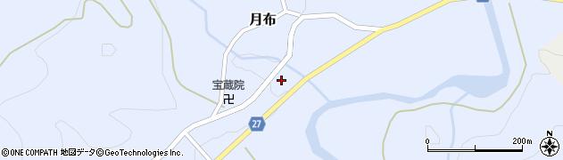山形県西村山郡大江町月布216周辺の地図