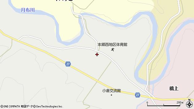 山形県西村山郡大江町十八才甲113周辺の地図