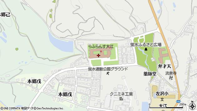 山形県西村山郡大江町左沢1277周辺の地図