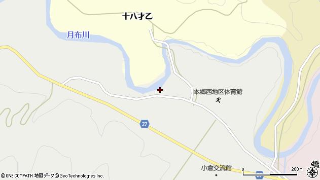 山形県西村山郡大江町十八才甲151周辺の地図