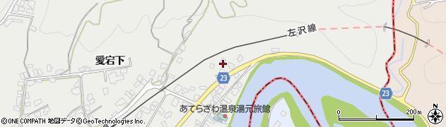 山形県西村山郡大江町左沢27周辺の地図
