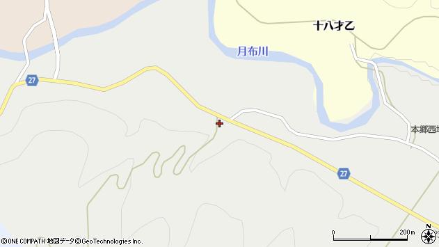 山形県西村山郡大江町十八才甲244周辺の地図