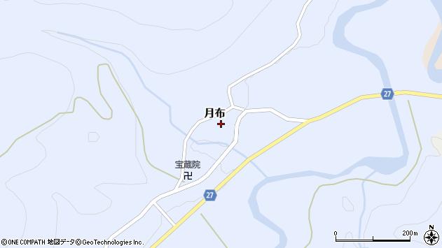 山形県西村山郡大江町月布131周辺の地図