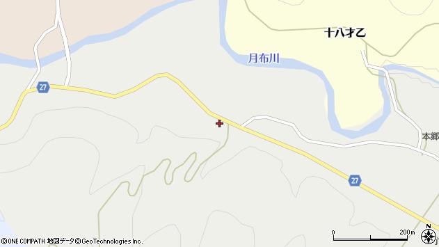 山形県西村山郡大江町十八才甲166周辺の地図