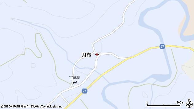 山形県西村山郡大江町月布133周辺の地図