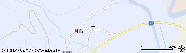 山形県西村山郡大江町月布135周辺の地図