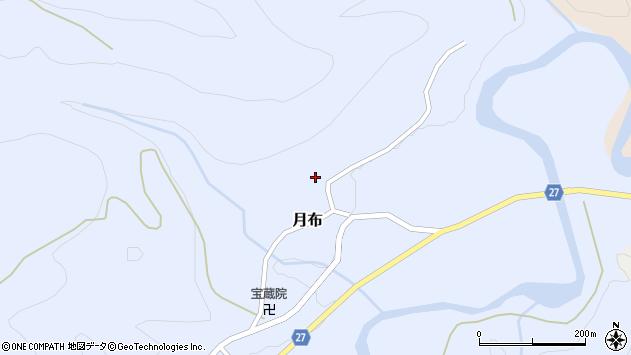 山形県西村山郡大江町月布152周辺の地図