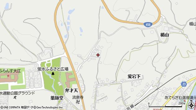 山形県西村山郡大江町左沢1201周辺の地図