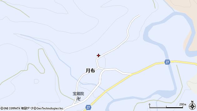 山形県西村山郡大江町月布151周辺の地図