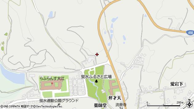 山形県西村山郡大江町左沢2263周辺の地図