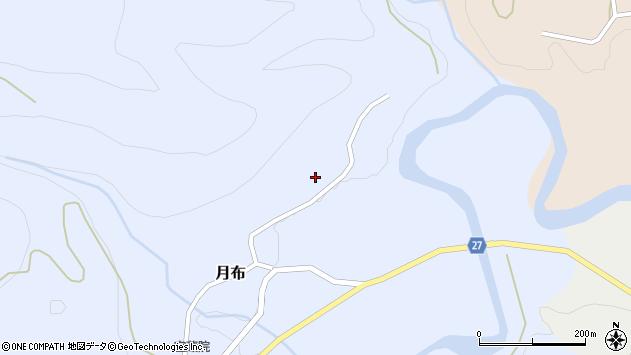 山形県西村山郡大江町月布23周辺の地図