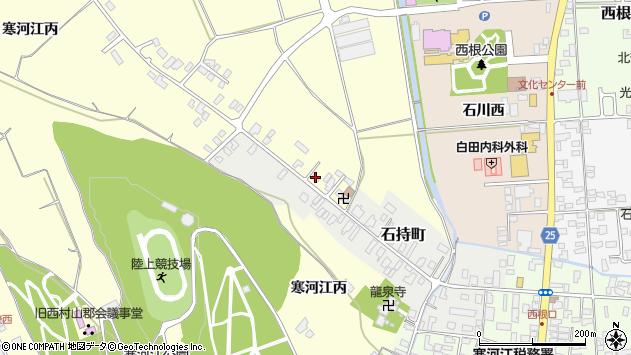 山形県寒河江市寒河江丙1279周辺の地図
