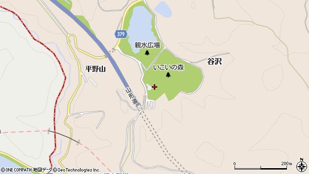 山形県寒河江市谷沢1563周辺の地図