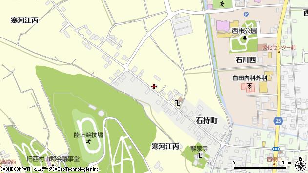 山形県寒河江市寒河江丙1278周辺の地図