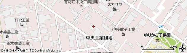 山形県寒河江市中央工業団地159周辺の地図