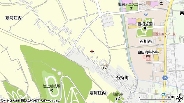 山形県寒河江市寒河江丙1286周辺の地図