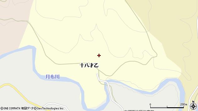 山形県西村山郡大江町十八才乙60周辺の地図
