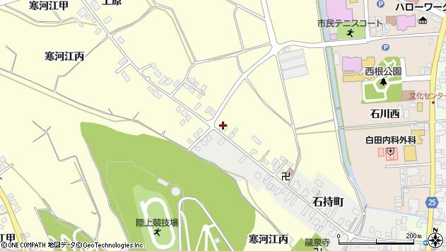 山形県寒河江市寒河江丙1271周辺の地図