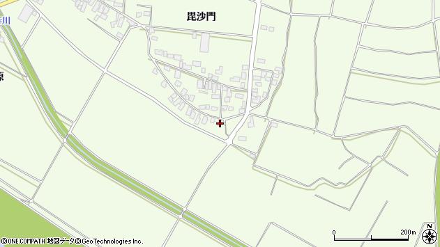 山形県西村山郡河北町溝延675周辺の地図
