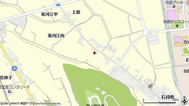 山形県寒河江市寒河江丙1236周辺の地図