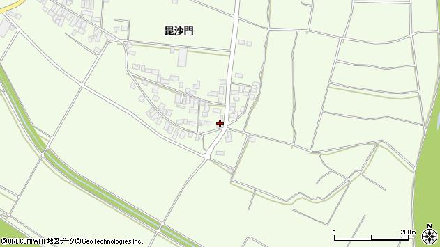 山形県西村山郡河北町溝延693周辺の地図