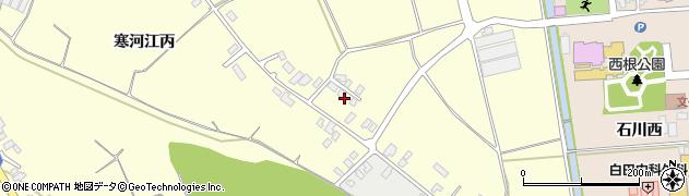 山形県寒河江市寒河江丙1261周辺の地図