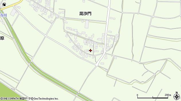 山形県西村山郡河北町溝延毘沙門638周辺の地図