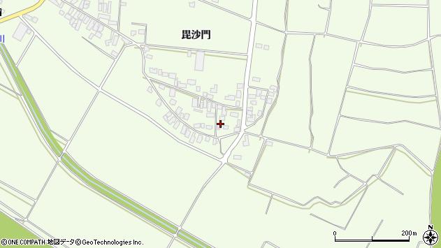 山形県西村山郡河北町溝延645周辺の地図