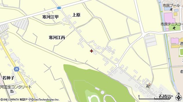 山形県寒河江市寒河江丙1240周辺の地図