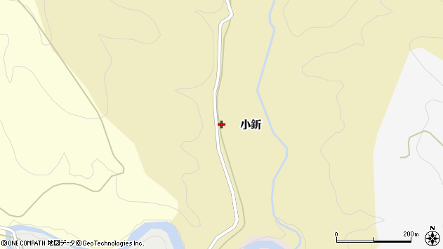 山形県西村山郡大江町小釿213周辺の地図