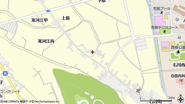 山形県寒河江市寒河江丙1251周辺の地図