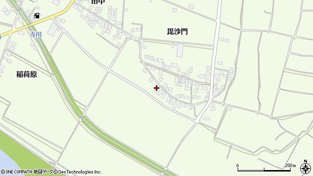 山形県西村山郡河北町溝延671周辺の地図