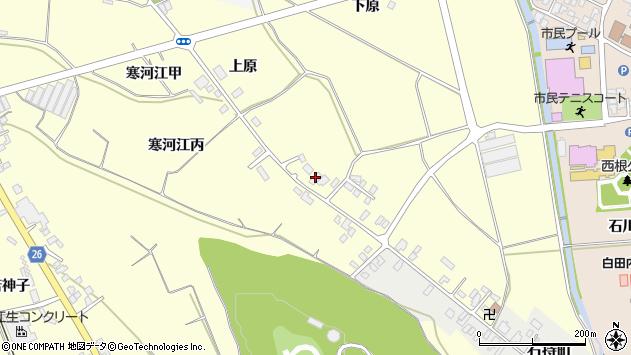 山形県寒河江市寒河江丙1248周辺の地図