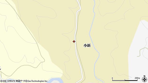 山形県西村山郡大江町小釿周辺の地図