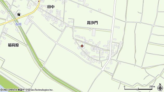 山形県西村山郡河北町溝延631周辺の地図