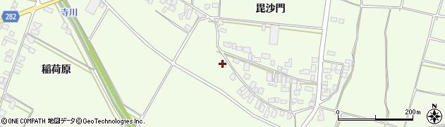 山形県西村山郡河北町溝延29周辺の地図