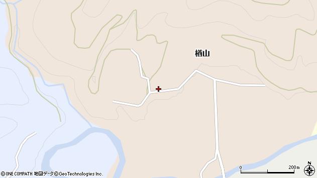 山形県西村山郡大江町楢山121周辺の地図