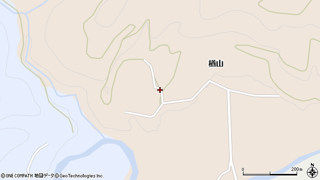 山形県西村山郡大江町楢山391周辺の地図