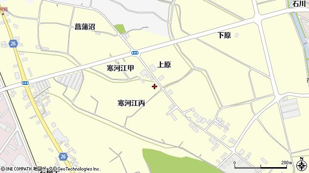 山形県寒河江市寒河江丙1472周辺の地図