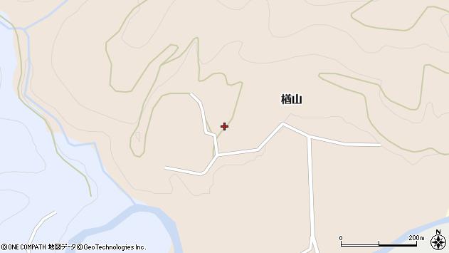 山形県西村山郡大江町楢山389周辺の地図
