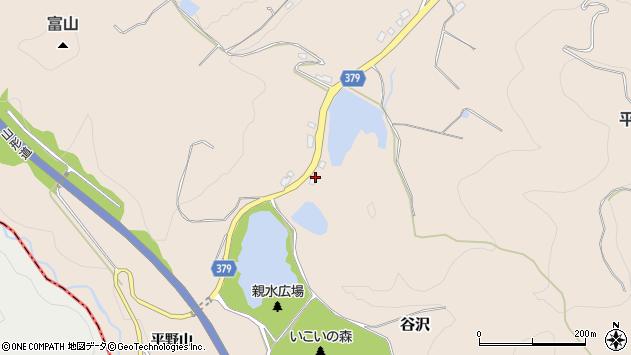 山形県寒河江市谷沢1589周辺の地図