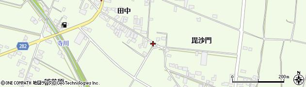 山形県西村山郡河北町溝延毘沙門600周辺の地図